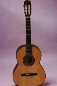 Gitarrenbau Christian Stoll: 1984: Klassikgitarre - Aus diesem Modell entwickelte sich im Laufe der Jahre die Classic Line Pro