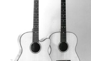 1989: Steelstrings - Die ersten Steelstrings in der Stoll-typischen Form.