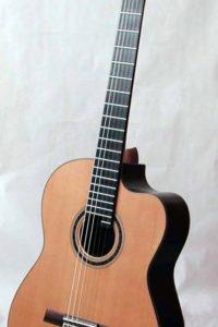 Gitarrenbau Christian Stoll: 2005 Solistengitarre Classic Custom mit Cutaway