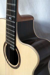Gitarrenbau Christian Stoll: 2007 Western-Gitarre Fingerstyle mit Cutaway