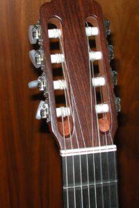 Gitarrenbau Christian Stoll: 2008: 8-saitige Konzertgitarre - Kopf
