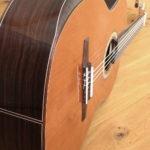 Armauflage / Bevel an Konzertgitarre, Gitarrenbauer Christian Stoll