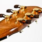 Gitarrenbau Christian Stoll: Stahlsaiten-Gitarre Ambition - Kopf Unterseite