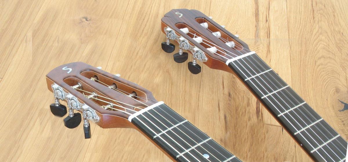 Doppelhals-Gitarre