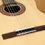 Klassische Gitarre Konzertgitarre Estudio Palisander Fichte - Steg