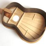 Klassische Gitarre Deckenbeleistung