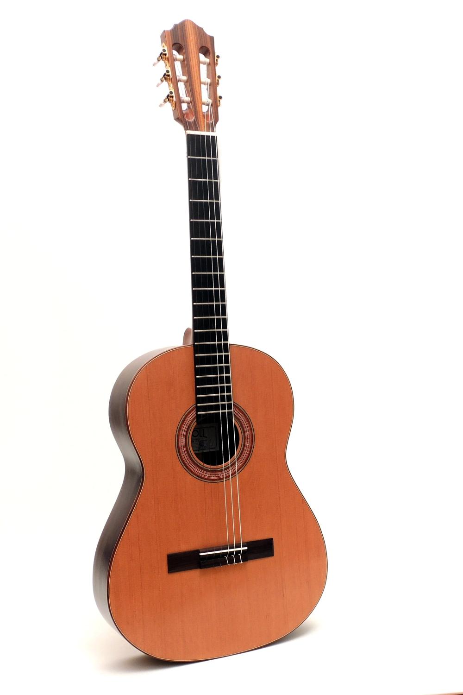 Klassische Konzertgitarre  LinkshaenderPalisander Zeder gitarrenbauer christian stoll