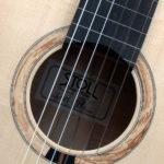 klassische Gitarre teil-bundiert Primera Custom - Rosette