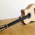 Crossover Nylonsaiten Gitarre mit Cutaway Gitarrenbauer Christian Stoll