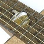 Inlay Eichel Holz/Perlmutt inWesterngitarre Fingerstyle Blues Stahlsaitengitarre Steelstring einheimische Hölzer Walnuss Mooreiche